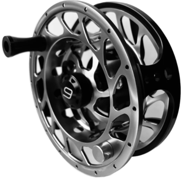 MAXXON Outfitters SDP Fly Reel Black/Silver  5/6