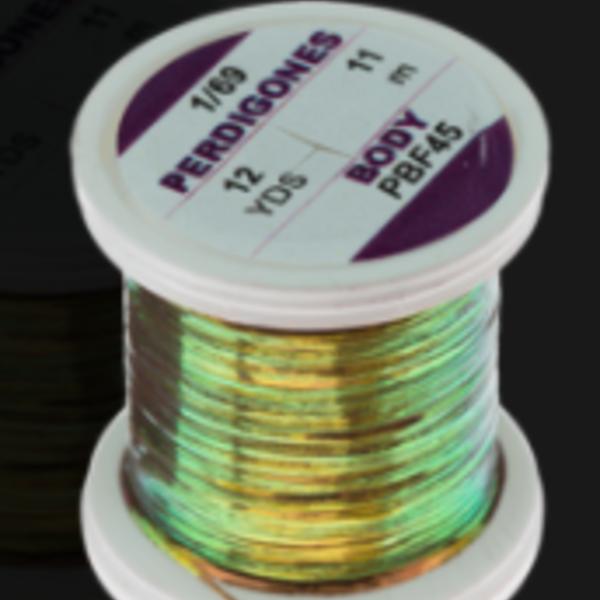 Hends PERDIGONES PEARL BODY – FINE 1/69 – 12 YARDS - Black copper Shine PBF45
