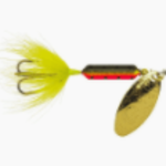"""Wordens Wordens 208-MPCT Rooster Tail In-Line Spinner, 2 1/4"""", 1/8 oz Metallic Purple Chartreuse"""