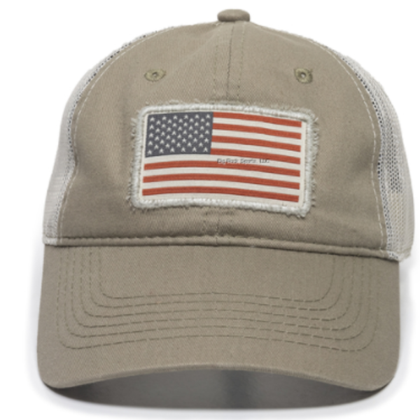 Outdoor Cap Outdoor Cap  Brown/Tan American Flag