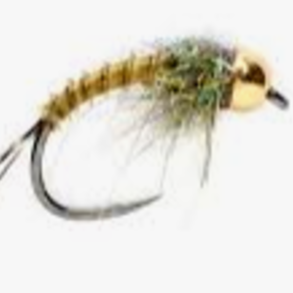Fulling Mill TACTICAL BIOT NYMPH OLIVE S18