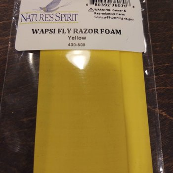 Natures Spirit WAPSI FLY RAZOR FOAM - YELLOW