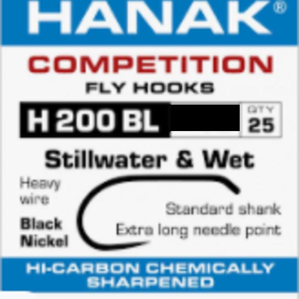 Hanak Hanak Hooks, Model 200, Sz 12, 25 pk