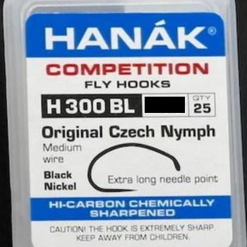 Hanak Hanak Hooks, Model300 BL  Sz 14  25 pk