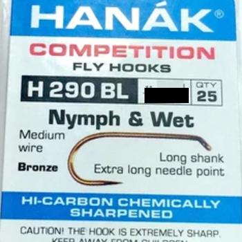 Hanak HANAK HOOK H 290 BL SZ 12 -  QTY 25