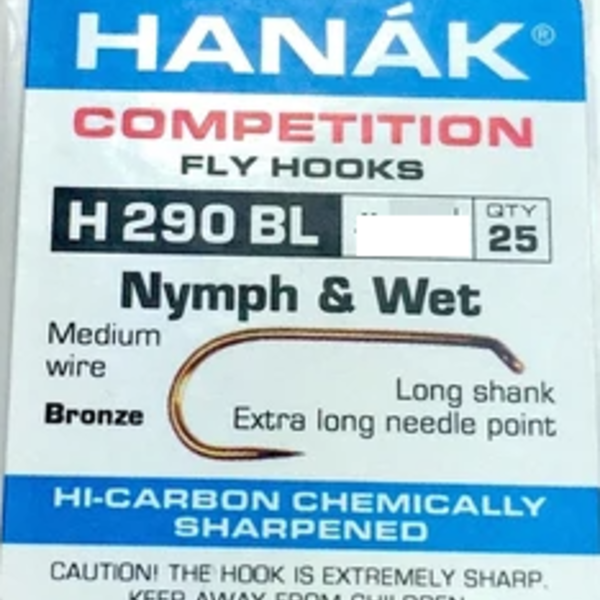 Hanak HANAK HOOK H 290 BL SZ 14 -  QTY 25