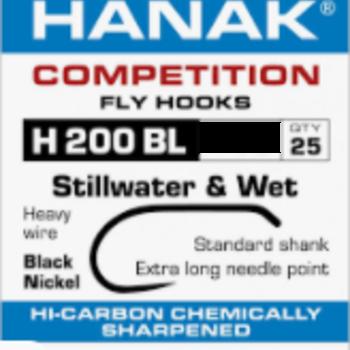 Hanak HANAK HOOK H 200 BL SZ 12 -  QTY 25