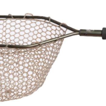 "Adamsbuilt Aluminum Catch & Release  Net 15"" Camo Ghost Netting"