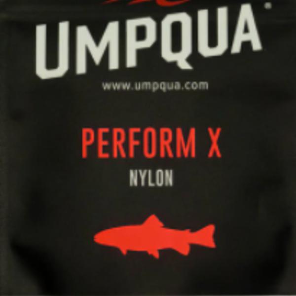 UMPQUA PERFORM X NYLON POWER TAPER TROUT LEADER 7.5'  4X  (3 PACK)