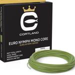Cortland EURO NYMPH  MONO CORE P- DOUBLE TAPER - LEVEL-  .017 LEVEL GECKO  GREEN 90'