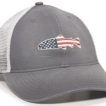 Outdoor Cap Copy of Oudoor Cap - Keeper Charcoal/White Stars  and Stripes