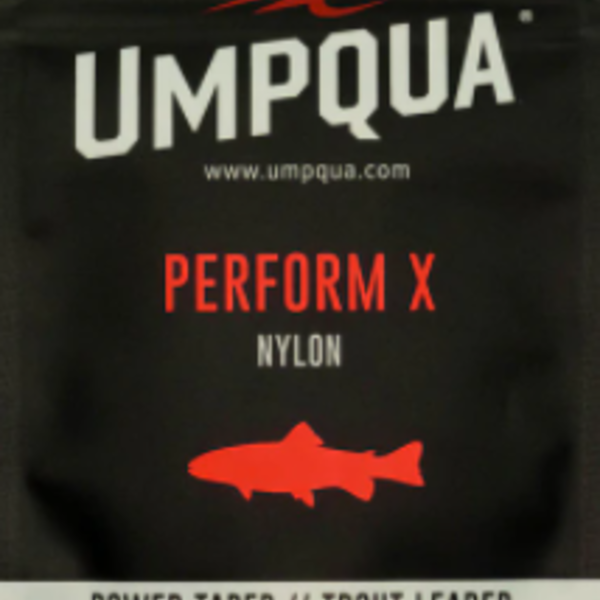UMPQUA PERFORM X TROUT LEADER 9' - 5X