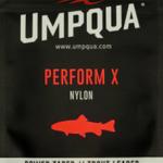 UMPQUA PERFORM X TROUT LEADER 9' (3PK) - 4X