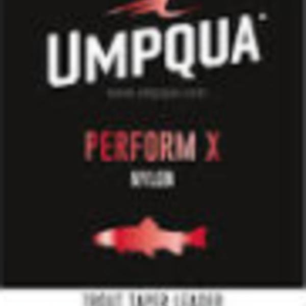 UMPQUA PERFORM X POWER TAPER TROUT LEADER 7.5' - 4X