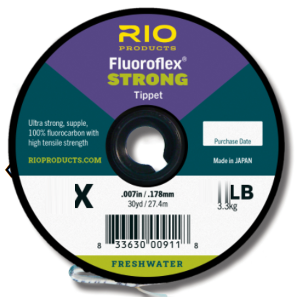 RIO FLUOROFLEX  STRONG 7X 100 YARDS