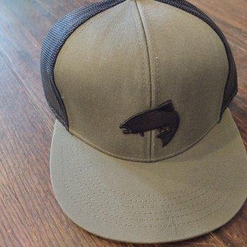 Big Rock Sports Outdoor Cap LUNKER Putty/Black