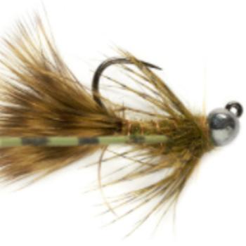 Fullingmill Jig Bugger Olive (BL) S14