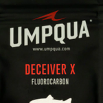 UMPQUA DECEIVER X FLUOROCARBON LEADER 9' - 4X