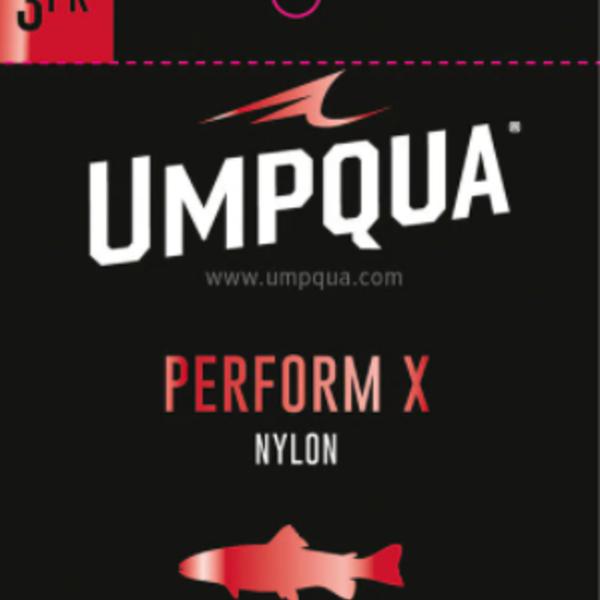 UMPQUA PERFORM X TROUT LEADER 9' 6X (3PK)