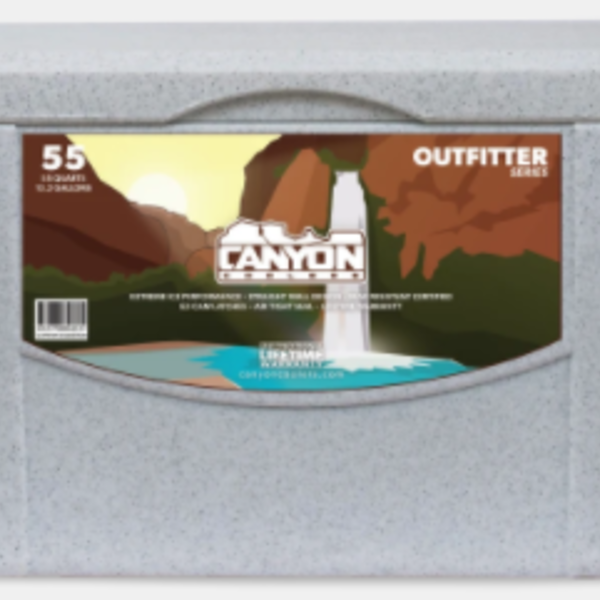 Canyon Coolers Outfitter 55 White Marble