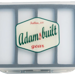 Adams Built Fly Box Clear Single Sided Large 6 magnetic Compartments