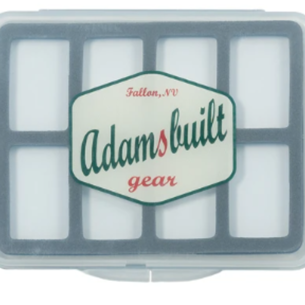 Adamsbuilt FLY BOX ULTRA SLIM WITH 8 MAGNETIC COMPARTMENTS