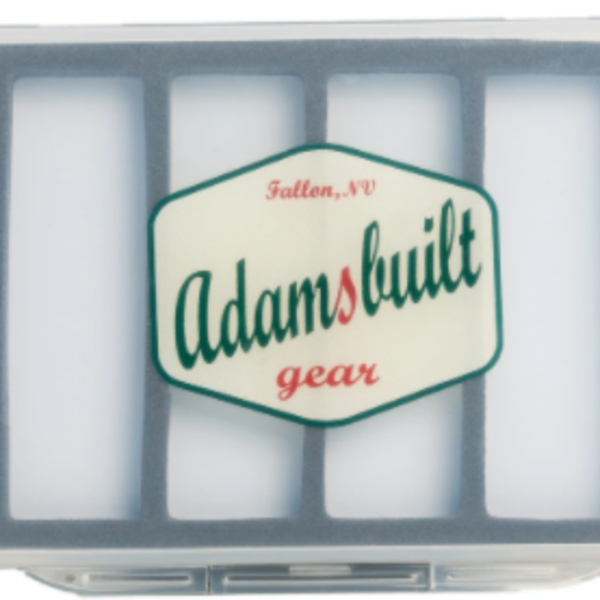 Adamsbuilt FLY BOX ULTRA SLIM WITH  6 MAGNETIC COMPARTMENTS