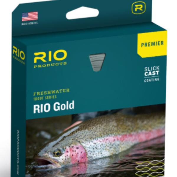 RIO Gold Premier with Slick Cast WF5F - Melon/Gray