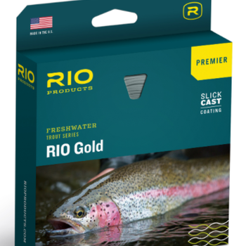RIO Gold Premier with Slick Cast WF4F - Melon/Gray