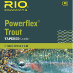 RIO POWERFLEX KNOTLESS 9FT  7X LEADERS