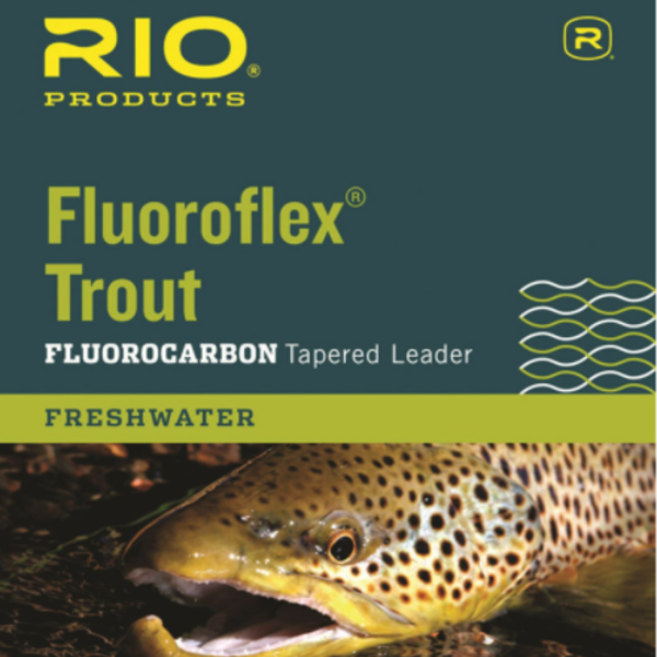 RIO Fluoroflex Trout Leader 7.5ft 4X