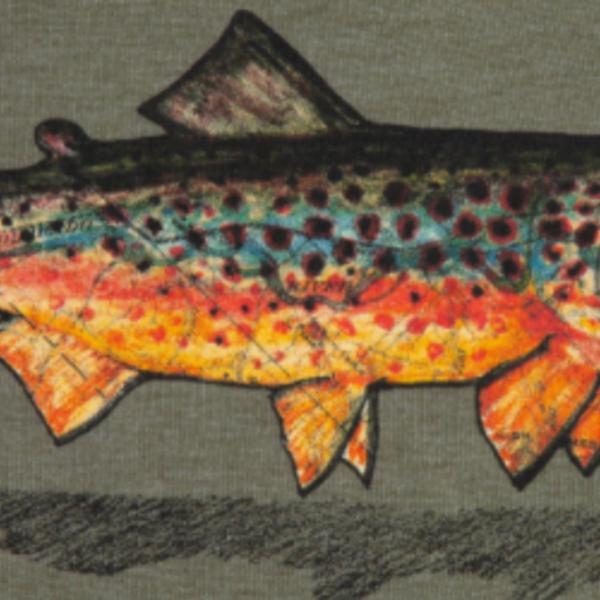 Fishpond LOCAL SHIRT - OLIVE