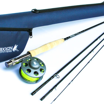 MAXXON Outfitters Stone Fly  Complete Fly Fishing Combo Outfit  4 WT  8'6""