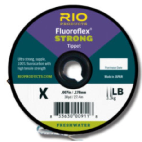 RIO FLUOROFLEX  STRONG  TIPPET 5.5X 100 YARDS