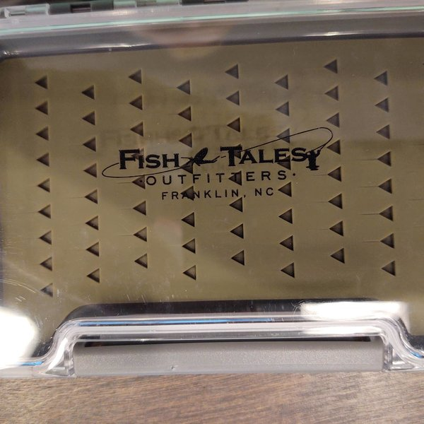 South Fork/New Phase Fish Tales Silicone Slim Fly Box 5.35 X 3.75 X.6