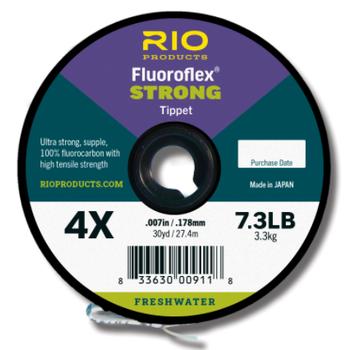 RIO Fluoroflex Strong Tippet 4X 30 YRDS