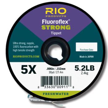 RIO Fluoroflex Strong Tippet  5X 30 YRDS