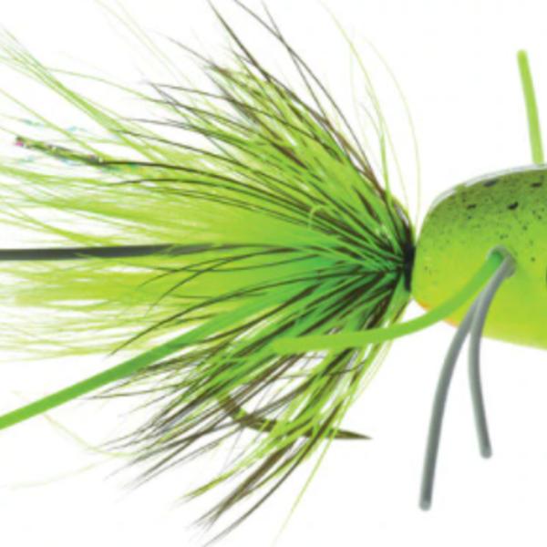 UMPQUA Bass Popper Fl Green Splat 10