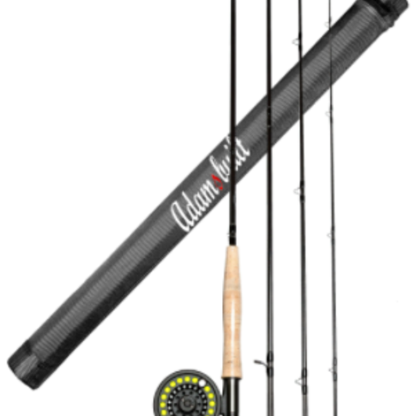Adamsbuilt Learn to Fly Fish 9' 5 WT Combo Package