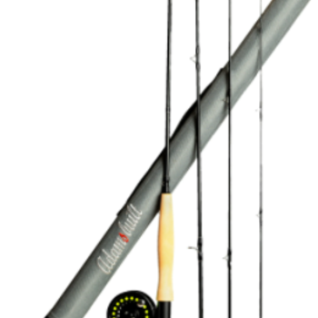 Adamsbuilt Learn to Fly Fish 8 FT 3/4WT Combo