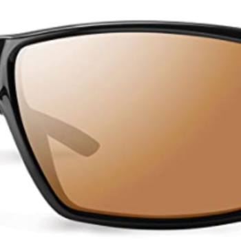 Smith Optics Guide's Choice Matte Black ChromaPop Glass Polarized Bronze Mirror