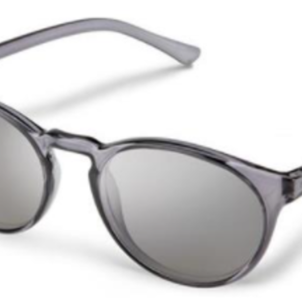 SunCloud Metric Transparent Gray Polarized Silver Mirror