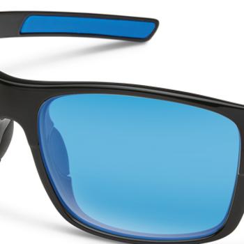 SunCloud Range Black Polarized Blue Mirror