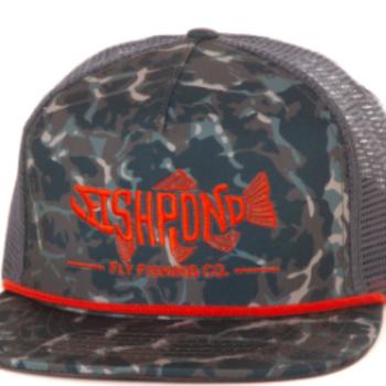 Fishpond Pescado Trucker Hat - Riverbed Camo