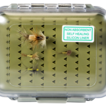 South Fork/New Phase Double Sides Waterproof Self Healing Fly Box 5 X 3 X 1.5