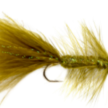 Fulling Mill CH/TH Woolly Bugger Olive S10