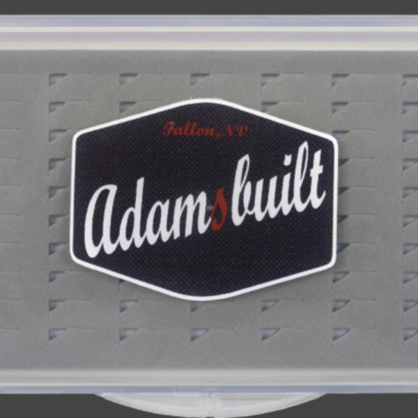 Adamsbuilt Fly Box Super Slim Easy Grip X-Small 70 Flies