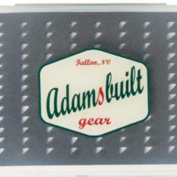 Adamsbuilt Fly Box Super Slim Easy Grip -  Small  104 Flies