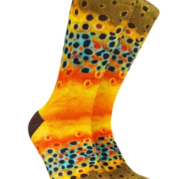 Reelthreads Brown Trout Sock  6-13