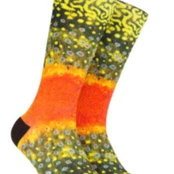 Reelthreads Brook Trout  Sock  6-13